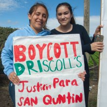 Boycott Driscoll's Justicia Para San Quintín