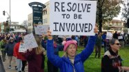 Resolve To Be Involved - Rally in Watsonville