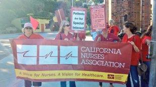 California Nurses Association: Patients Are Our Special Interest