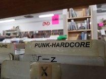 Punk-Hardcore CDs at Logos