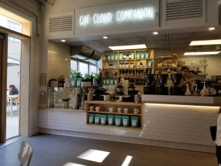 Cat & Cloud Coffee in Abbott Square Market