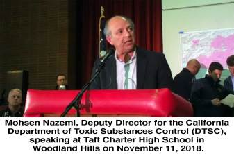 Mohsen Nazemi, Deputy Director for the California Department of Toxic Substances Control (DTSC)