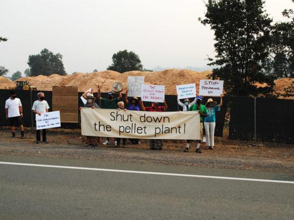 Shut Down the Pellet Plant!