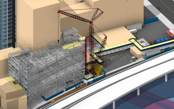 BIM Process Improving Construction Site Safety | Turner Construction | Bradley BIM | Revit -ArchiCAD -Bentley -Vectorworks