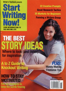 Writer's Digest, November 2003 Cover