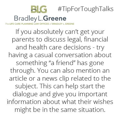 #TipForToughTalks