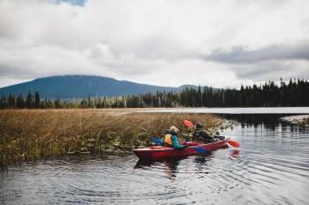 Adaptive kayaking