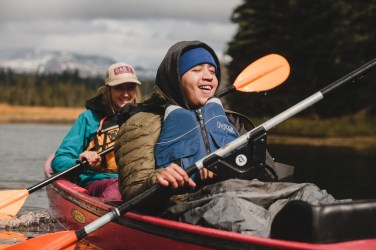 Oregon-Adaptive-Sports-Kayaking-Hosmer-Lake-21