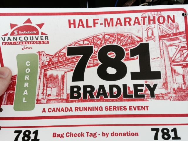 Scotiabank Vancouver Half Marathon Race Report