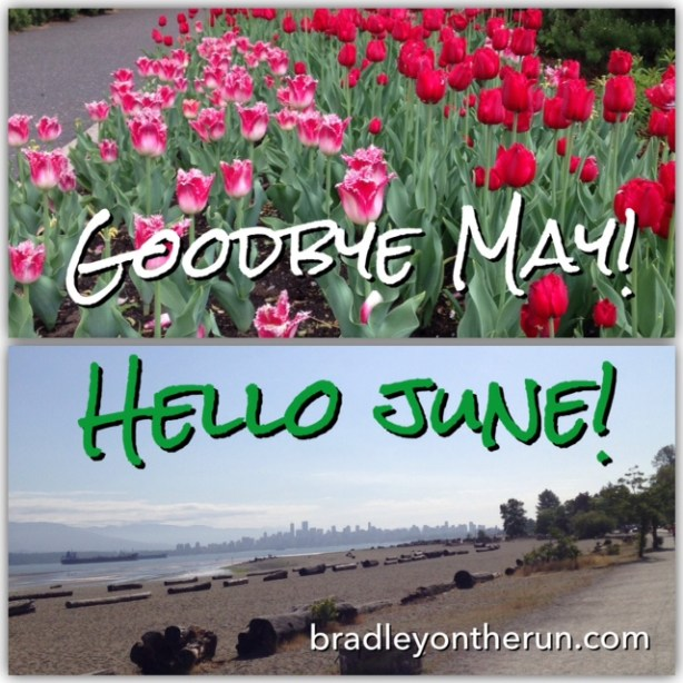 Goodbye May, Hello June!