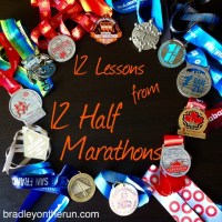 12 Lessons from 12 Half Marathons