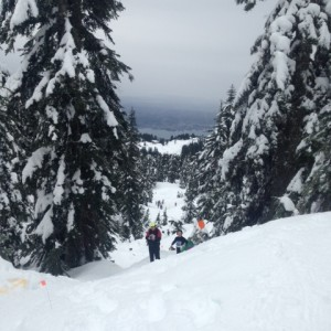 Grouse Snowshoe Grind