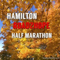 Hamilton Road2Hope Half Marathon