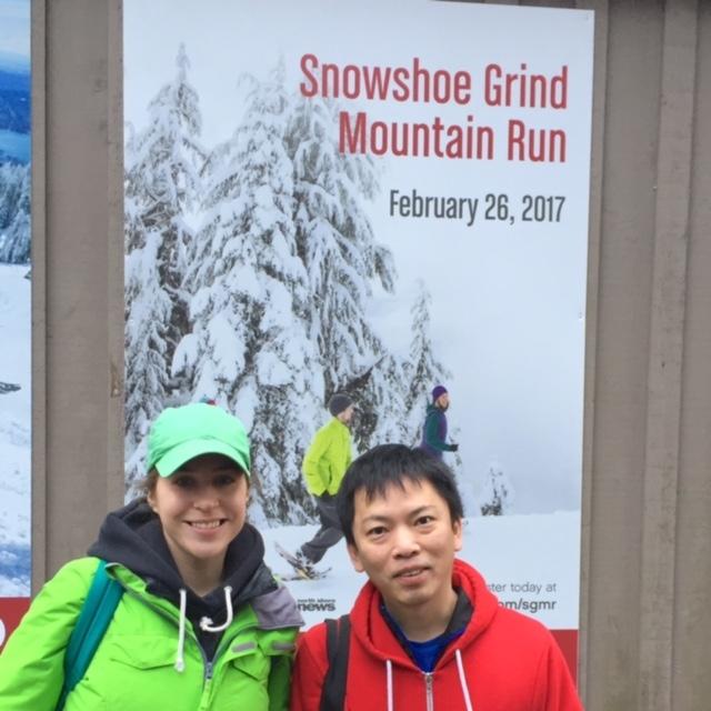 Grouse Snowshoe Grind Mountain Run 2017