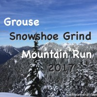 Grouse Snowshoe Grind Mountain Run 2017