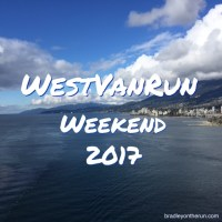 West Van Run Weekend 2017