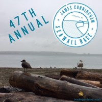 The 47th Annual James Cunningham Seawall Race!