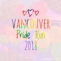 Vancouver Pride Run 2018