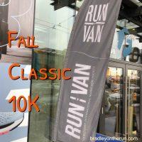 RunVan Fall Classic 10K 2018