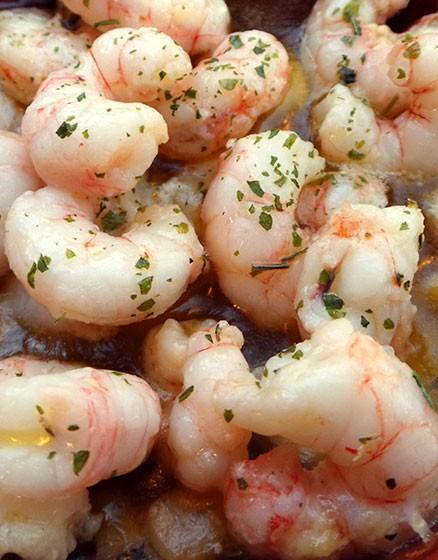 Garlic Coated Prawns