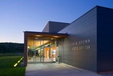 Solebury School, John D. Brown Athletic Center. Photo by Albert Vecerka │ ESTO.