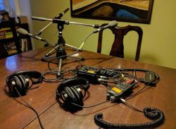 How we make The Loving Project podcast (recording gear, audio editing software)