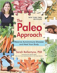The cover of the book The Paleo Approach by Sarah Ballantyne
