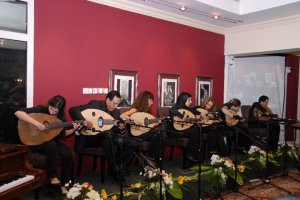 musicians at house of oud