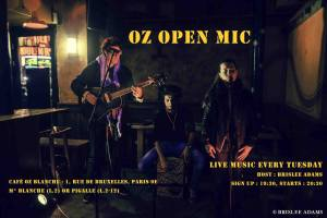 Oz Open Mic Paris