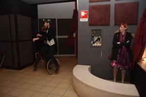 Brad Spurgeon unicycling TAC show