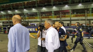 Chase Carey of Liberty Media at Singapore GP 2016. Photo:  Brad Spurgeon