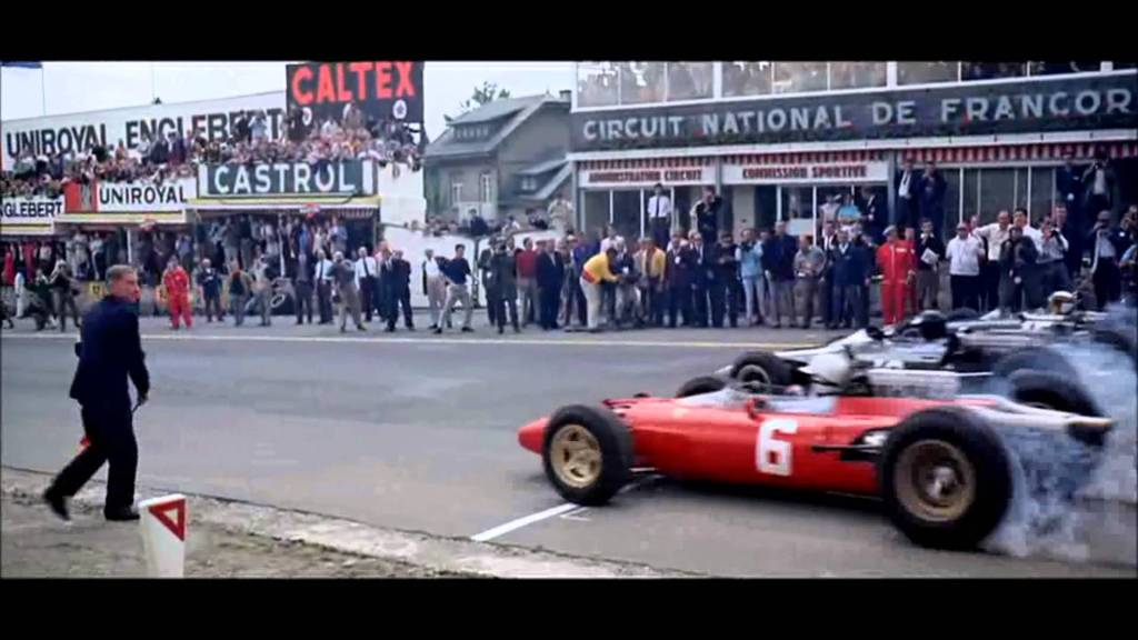 Grand Prix film at Spa
