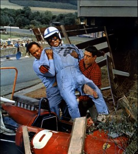 Grand Prix film crash