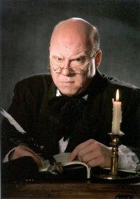 David H.M. Lambert as Scrooge