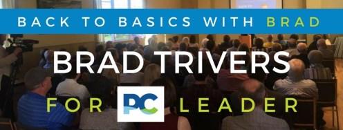 Announcement Crowd - Brad Trivers for PEI PC Leader