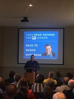 Brad Trivers for PEI PC Leader - announcement Scott Hammill