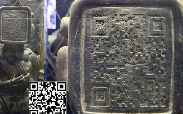 Откриха древна статуя на маите с QR код! Но когато го сканираха останаха без думи!