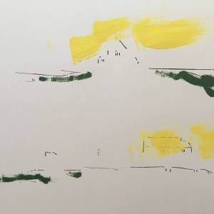 Excavations 12 Print by Brad Vogler