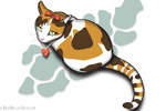 Digital Pet Portrait Example