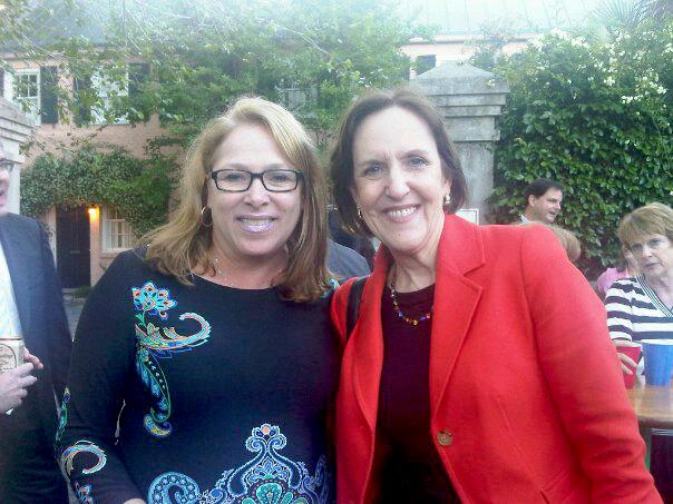 Clare with Karen Tumulty.