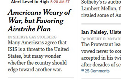 NYT page
