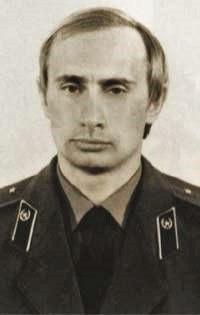 All his old pals from KGB days are bound to be jealous. Or scared. Or both...