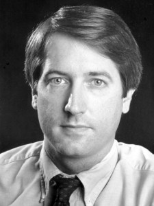 My staff photo from 1987: Back then I could WRITE...