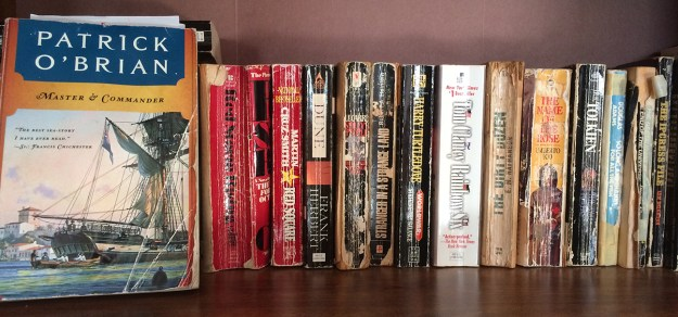 Some of the books I've lazily read and reread over the years, rather than read something new.