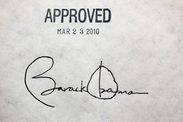 Basically, they're trying to undo what this signature did.