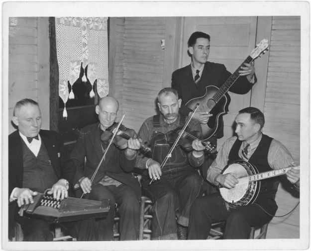 Actually, this is NOT The Cotton Pigue mentality. It's The Bog Trotters Band. I just needed a Bluegrass picture that was old-timey.