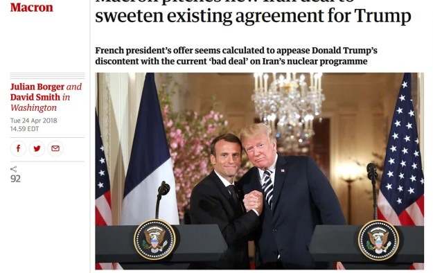From The Guardian's web page.