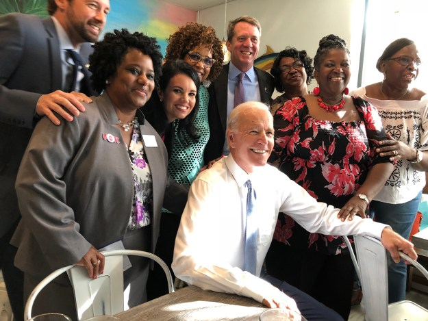 Here was the other time I remember -- the day the OTHER Joe campaigned with us in Charleston, Oct. 13, 2018.