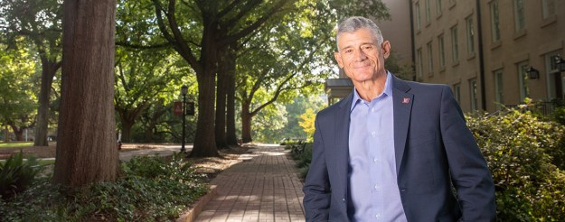 """Image from USC's """"MEET OUR PRESIDENT: BOB CASLEN"""" page."""