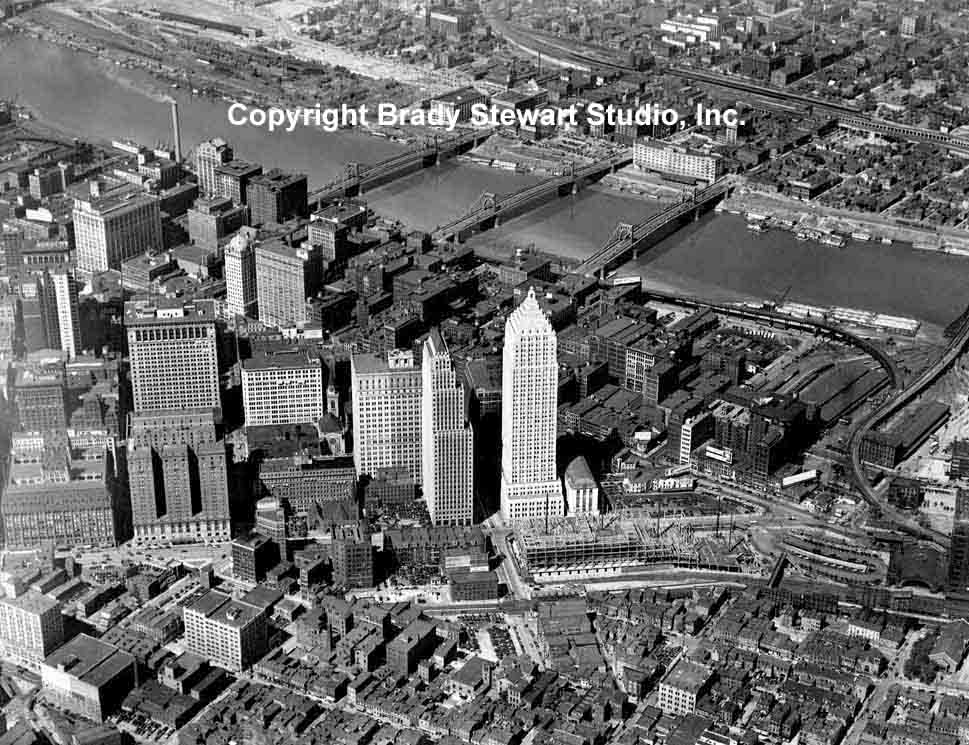 Pittsburgh Architecture and Skyline - Buildings that are Gone (4/6)